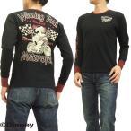 ショッピングミッキー ローブローナックル 長袖Tシャツ ミッキーマウス ロンT 595508 ウイニングラン 黒 新品