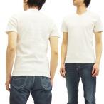 ノートンモーターサイクル Vネック Tシャツ 62N1008 スパンテレコ 同色刺繍 Norton 半袖Tシャツ 白 新品