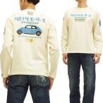 カミナリ 雷 ロンT 長袖Tシャツ KMLT-78 カミナリモータース舶来車販売事業部 エフ商会 オフ白黒 新品