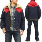 シュガーケーン パディングジャケット SC13092 東洋エンタープライズ メンズ 中綿アウター 紺 新品