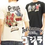 【予約商品】テッドマン ゴジラ コラボ半袖Tシャツ TEDMAN × Godzilla ファイヤーファイターテッド エフ商会 TDGZ-100 新品
