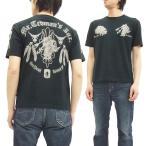 テッドマン 半袖Tシャツ TEDMAN Tシャツ メタルレッドデビル ネイティブインディアン エフ商会 TDSS-453 黒 新品
