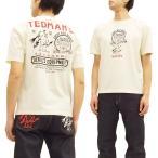 TEDMAN テッドマン 半袖Tシャツ TDSS-456 Tシャツ Signboard 看板デザイン エフ商会 オフ白 新品