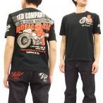 TEDMAN Tシャツ テッドマン 半袖Tシャツ TDSS-462 DRUG RACE トライバルバイク エフ商会 黒 新品