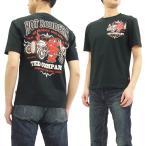 ショッピング半袖 TEDMAN 半袖Tシャツ エフ商会 テッドマン Tシャツ ホットロッドカスタムカー TDSS-475 黒 新品