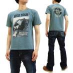 トイズマッコイ Tシャツ TOYS McCOY 半袖Tシャツ マリリン・モンロー USO TOUR ブルーグレー TMC1921 新品