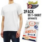 ホワイツビル 無地 Tシャツ 2PACK WV73544 東洋エンタープライズ メンズ 半袖tee 白 新品