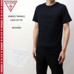 "GUESS ゲス 半袖 Tシャツ ""EMBOSS TRIANGLE LOGO S/S TEE"" MI2K9409 ロゴ 正規品"
