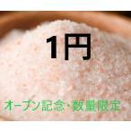 数量限定・激安特価品 オープン記念 ヒマラヤ岩塩バスソルト 20g 入浴剤 あら塩 1円