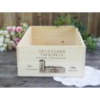 大1 ワインBOX エルシャトー ワイン 木箱 小物入れ ワイン箱 アンティーク風