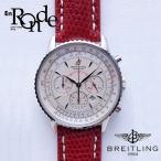 ブライトリング メンズ腕時計 モンブリラン A41370 SS/革 ホワイト文字盤 中古 新入荷 おすすめ