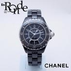 シャネル CHANEL レディース腕時計 J12 H0682 セラミック 黒文字盤 中古 新入荷 おすすめ