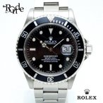 ロレックス ROLEX メンズ時計 サブマリーナ 16610 ステンレス 黒文字盤 中古