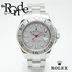 ロレックス ROLEX メンズ腕時計 ヨットマスター ロレジウム 16622 SS/Pt シルバー文字盤 中古 新入荷 おすすめ