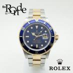 ロレックス ROLEX メンズ時計 サブマリーナ 16803 ステンレス/YG 青文字盤 中古 新入荷 おすすめ
