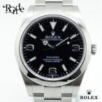 ロレックス ROLEX メンズ時計 エクスプローラーI 214270 ステンレス 黒文字盤 中古