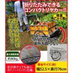 折りたたみ式アルミリヤカー ミニ TAN-584(同梱・代引き不可)
