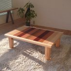 レイ 135 ローテーブル 座卓 折りたたみ 折れ脚 日本製 国産ローテーブル ちゃぶ台 長方形 和モダン ナチュラル 机