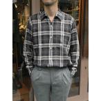 LES LESTON/レスレストン/オープンカラーシャツ/長袖/ブラックチェック/les341801