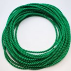 6mm  ポリエチレンロープ 緑(メートル単価) ロープ切売り 園芸ロープ 農業ロープ 漁業ロープ