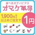 Yahoo Shopping - ボディピアス 18G 16G 14G 対象商品合わせて1900円以上のご購入で1円 オマケ革命(1個売り)