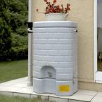 タキロン 雨水貯留タンク 雨音くん/タンク容量:200リットル 集水継手:ジェットライン専用 本体:みかげ色 集水継手:黒色/タンク容量:200L