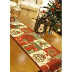 ヨーロッパ風 赤い ポイセンチア テーブルランナー33*180cm