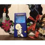 キャラクターiphone7/6s /6対応窓付き 手帳型 スマホケースケース//スヌーピー・ピーナッツ