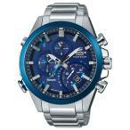 エディフィス EDIFICE カシオ CASIO メンズ 腕時計 タイムトラベラー スマホリンク Bluetooth タフソーラー EQB-501DB-2AJF