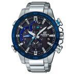 エディフィス EDIFICE カシオ CASIO メンズ 腕時計 レースラップクロノグラフシリーズ Bluetooth タフソーラー EQB-800DB-1AJF
