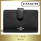 コーチ COACH 財布 二つ折り F11484 IMBLK アウトレッ