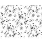 ポーセリンアート白磁用転写紙シークレットガーデン