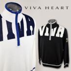 ショッピングハート ビバハート メンズ/ジップアップセーター(M)(L)(LL) ゴルフウェア VIVA HEART 011-14011