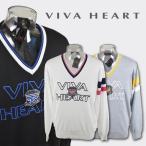 ショッピングハート ビバハート メンズ/Vネックセーター(M)(L)(LL) ゴルフウェア VIVA HEART 011-14910