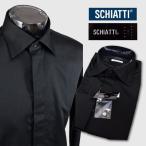 スキャッティ ブラックネーム/長袖ワイシャツ ssn220252-19 SCHIATTI
