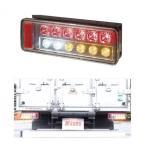 コイト2t用LEDリアコンビネーションランプBタイプ(L・Rセット) いすゞ07エルフ用右ブザー付き