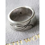 ショッピングNORTH NORTH WORKS(ノースワークス)〜900Silver Stamp Ring W-023〜