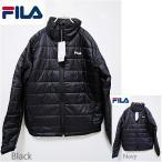 送料無料 約61%off FILA キルティング中綿ジャケット 軽量 レディース メンズ ダウン ジャケット アウター ブラック 紺