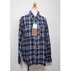 送料無料 40%off OSHKOSH コットン100% メンズデニムシャツ チェックシャツ