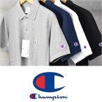チャンピオン Champion C3-F356 ポロシャツ 半袖 メンズ レディース 父の日 プレゼント 半袖Tシャツ  鹿の子 送料無料