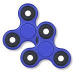 【NEW】【ブルー】 Fidget Hand Spinner 指スピナー ハンドスピナー ボールベアリング フォーカス玩具 子供大人に適用 ストレス解消【ロワジャパン】