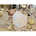 ショッピングアロマ WY アロマ ディフューザー ライト 北欧雑貨 真っ白な陶器製 北欧の家をモチーフした洗練されたデザイン マルチカラーLEDライト内蔵 ミス