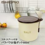 送料無料 調味料入れ 900ml 陶器 おしゃれ サラサラ 固まりにくい 砂糖 塩 シュガー ソルト ポット キャニスター パラパラ素焼きポット シュガーorソルト 900ml