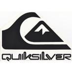 クイックシルバー ステッカー QUIKSILVER STICKER 縦 15 X 横 22cm シートタイプステッカー、クリアーシートに印刷