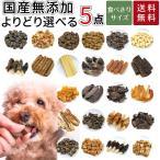 選べる 5個 お試し 小分け セット 個別包装 各20g 犬