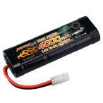 NASTIMA 7.2v ニッケル水素バッテリー 超大真の容量4000mAh ラジコン バッテリー 多種類のRCカー用 タミヤコネクター付き