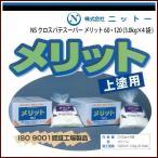 ニットー NS クロスパテスーパー メリット 60・120 (3.0kg×4袋)