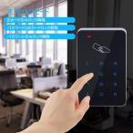 アクセスカードリーダー Acouto PVC タッチスクリーン コードドアアクセス ドアアクセスコントローラ デジタルドアロック ドアベルイ