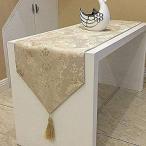 おしゃれ テーブル ランナー 空間 モダン インテリア リビング おもてなし アジアン ラグ 刺繍 カバー リネン 寝室 ベッド クロス 北