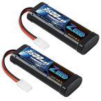 ゼエエ Zeee 7.2V 3600mAh NiMH TAMIYAプラグ付き 2パック 令和最新版 ニッケル水素大容量バッテリー ラジコン製